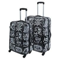 SAVEBAG Set de 2 valises a 4 roues SPIESSERT - Noir
