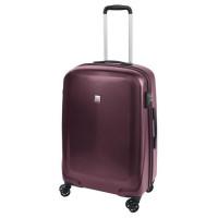 SAVEBAG Valise de cabine 4 roues MAGASKA - Serrure TSA - 62L - Violet