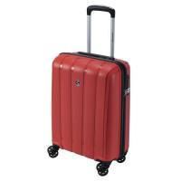 SAVEBAG Valise de cabine rigide 4 roues Polypropylene - INCASSABLE - Serrure TSA - 32L - Rouge