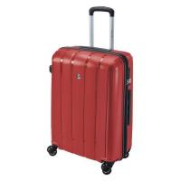 SAVEBAG Valise rigide 4 roues Polypropylene - INCASSABLE - Serrure TSA - 65L - Rouge