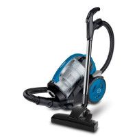 POLTI FORZASPIRA MC350 TURBO + FRESH - Aspirateur traineau sans sac - 700W - 78 dB - A - Bleu