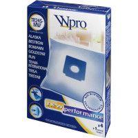 WPRO TR245-MW Sac aspirateur Trisa / 4 sacs + 1 FM