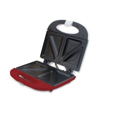 BEPER 90.640H Machine a sandwich - 700 W - Blanc et Rouge