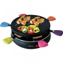 TRIOMPH ETF1617 Raclette Grill - Jusqua 6 personnes - 24,8 cm de diametre - 800W - Noir