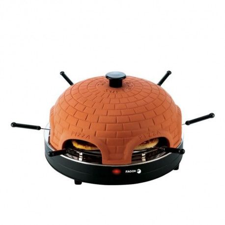FAGOR FG394 Four a pizza avec dome en terre cuite - Noir