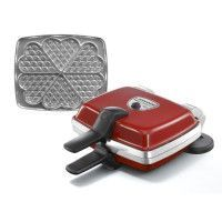 LAGRANGE 039511 Gaufrier electrique Super 2 - Rouge