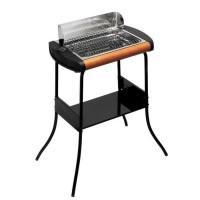 LAGRANGE 319002 CONCEPT Barbecue grill avec pied  40x28 - 2300 W - Noir