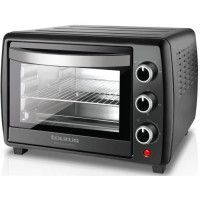 TAURUS Horizon 22 Plus-Mini four-22 L-1500 W-Cuisine traditionnelle, sole, voute et convection-Noir