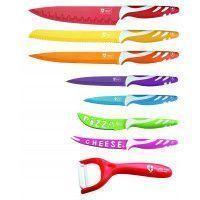 Royalty Line Royalty Line RL-COL7M Set de couteaux de couleur 8 pièces