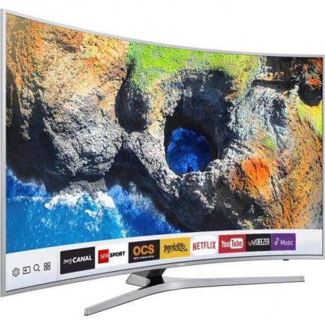 SAMSUNG UE55MU6505 TV LED Incurvee UHD 138cm 55 - Smart TV - 1600 PQI - 3 x HDMI - Classe energetique A