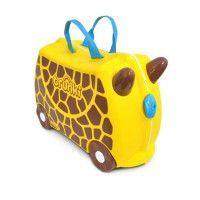 TRUNKI Valise Porteur a roulettes pour enfants - Girafe Gerry
