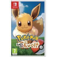 Pokemon : Lets go, Evoli Jeu Switch Pokemon Go