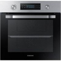 SAMSUNG NV66M3571BS - Four electrique encastrable - Chaleur pulsee - 66L - Pyrolyse - A - Inox