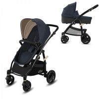 CBX Poussette Travel system Leotie pure  - Jeansy Blue