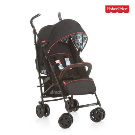 HAUCK - poussette palma plus - Fisher Price - black