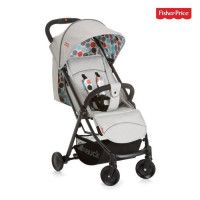HAUCK - poussette rio plus - Fisher Price - grey