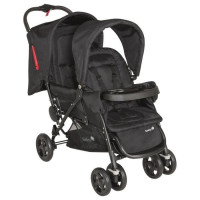 SAFETY 1ST Poussette Double Tandem Duodeal Full Black