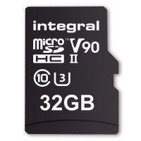 INTEGRAL Carte micro SDHC/XC INTEGRAL INMSDH 32 G-280/240 U 2