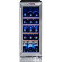 LA SOMMELIERE CVDE21 - Cave a vin de service - 21 bouteilles - Encastrable - Classe A - L 29 x H 82 cm