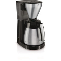 MELITTA 1010-11 Cafetiere filtre avec verseuse isotherme Easy Top Therm - Inox