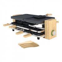 PRINCESS Pure Appareil a raclette - 1200W - 8 personnes - Bambou