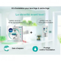 Pack Kit dinstallation - Kit de superposition + Vanne anti-inondation