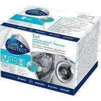 CDP1012 Nettoyant 3 en 1  Degraissant,Detartrant et Desinfectant  pour Lave-Linge et Lave-Vaisselle - Boite de 12 sachets poudre