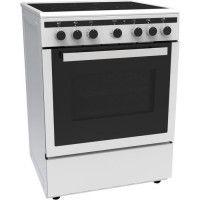 CONTINENTAL EDISON CECICM604ZW-Cuisiniere table induction-4 zones-Four electrique multifonction-Catalyse-65 L-A-L 60 x H 85 cm-B