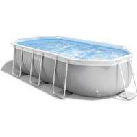 Kit piscine INTEX Prism Frame - 400 x 200 x 100 cm
