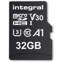 INTEGRAL Carte micro SDHC/XC INTEGRAL INMSDH 32 G-100/70 V 30