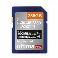 INTEGRAL Carte micro SDHC/XC INTEGRAL INSDX 256 G-100/90 V 30