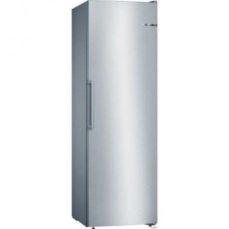 BOSCH GSN36VL3P - Congelateur armoire - 242 L - Froid no frost multiairflow - A++ - L 60 x H 186 cm - Inox