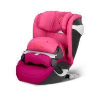 CYBEX Siege auto Groupe 1 Juno M - Fix 9-18kg / 9m a 4 ans avec bouclier - Passion Pink
