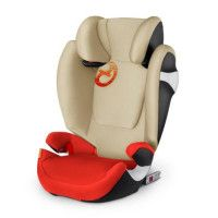 CYBEX Siege auto Groupe 2 3 - 15-36kg / 3 a 12 ans Solution M - Fix Isofix - Autumn Gold