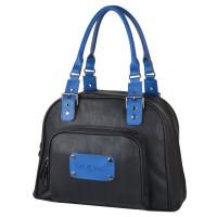 BABY ON BOARD Sac a Langer Customisable Swapn Go Noir/Bleu Royal