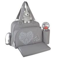 BABY ON BOARD Sac a langer + accessoires nomades Simply Girl - Des la naissance - Bebe fille