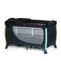 HAUCK Lit Parapluie Sleep N Play Center avec plan a langer - Multi Dots Navy