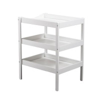 TINEO Table a langer 3 plateaux blanc