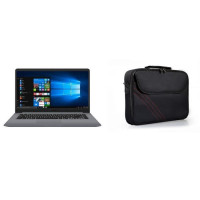 ASUS PC portable S501UA-EJ1288T - 15 FHD - 8 Go - i3 7020U - 128 Go SSD + 1 To HDD - Windows 10 + PORT DESIGNS Sacoche PC S15