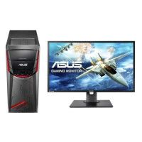 ASUS PC de Bureau G11CD-K-FR029D - i5-7400 - RAM 8Go - 256 Go 1 To - GTX1060 6Go + Ecran MG248QE - 24- FHD - TN - 1ms - 144Hz