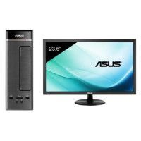 ASUS PC K20CE-FR062T - Intel Pentium J3710 - 4Go - 1To HDD + Ecran VP247HA - 24 - 1920 x 1080 - FHD - VA - 5 ms - 75 Hz