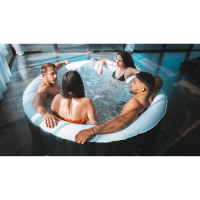 SUNSPA Spa gonflable rond 4 places