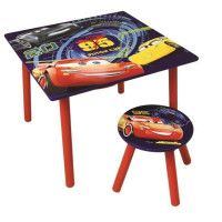 CARS 3 Table dactivite + Tabouret - Enfant