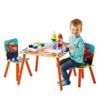 CARS Ensemble Table Et 2 Chaises Pour Enfants