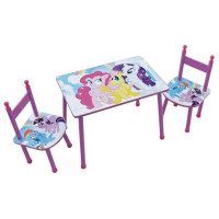 MON PETIT PONEY Ensemble table + chaise