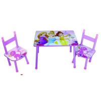 DISNEY PRINCESSES Ensemble table + chaises - Fille