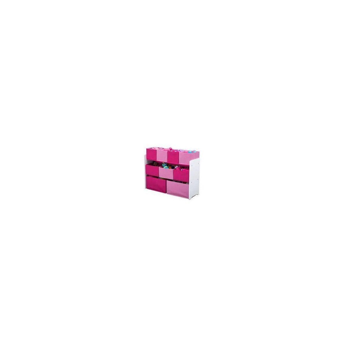 Acheter DELTAKIDS - Meuble rangement Jouets en bois et tissu ...