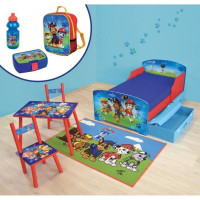 PATPATROUILLE Pack chambre complet pour enfant