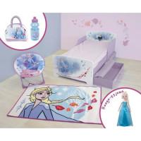 DISNEY REINE DES NEIGES Pack chambre complet pour enfant