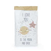 NAF NAF Sac De Rangement Love You To The Moon 13x60x90 cm
